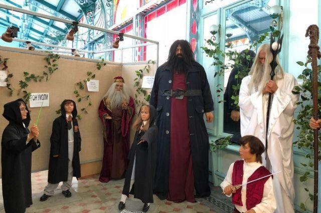 Восковые фигуры Владимира Путина и Гарри Поттера поселились на выставке в Железноводске