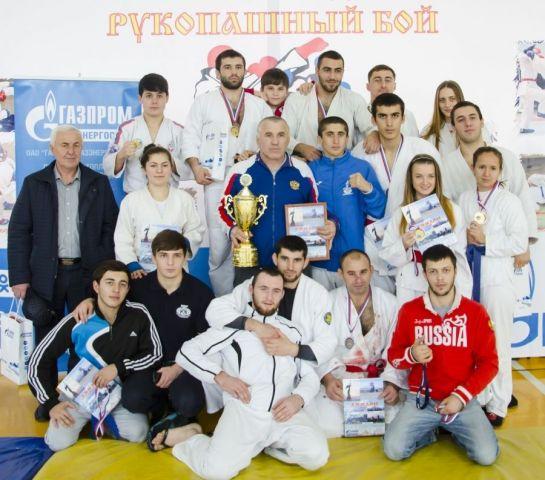 Ставропольские рукопашники выиграли чемпионат СКФО