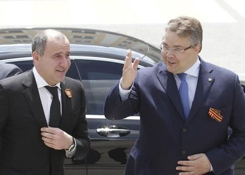 В краевом центре прошла рабочая встреча глав Ставрополья и КЧР