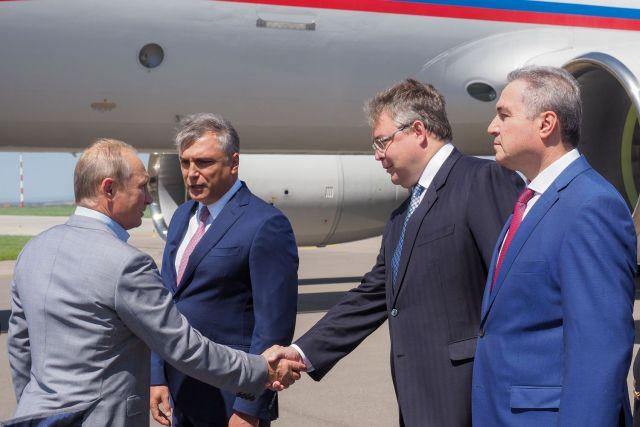 Владимир Путин прибыл на Ставрополье