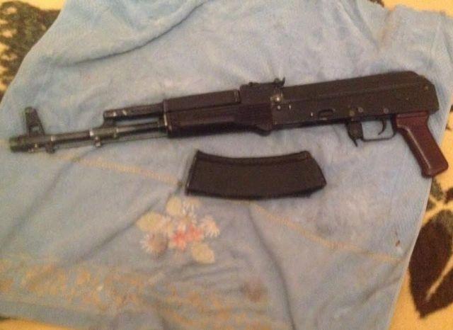 На Ставрополье сотрудники полиции изъяли боевое оружие и боеприпасы
