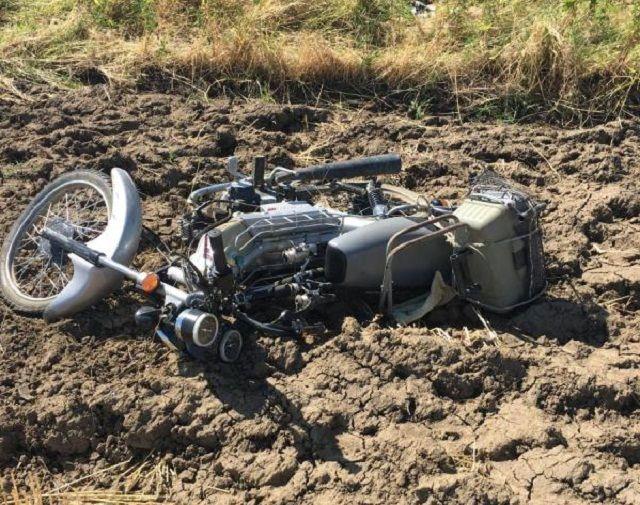 Ставрополец, управлявший мотоциклом без прав, разбился в трагедии