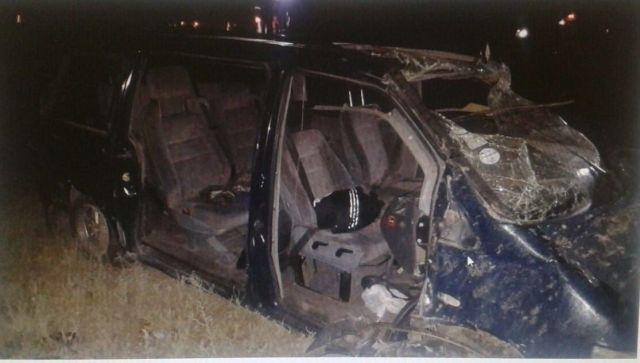 На Ставрополье в ДТП из-за разгерметизации колеса погибли двое человек