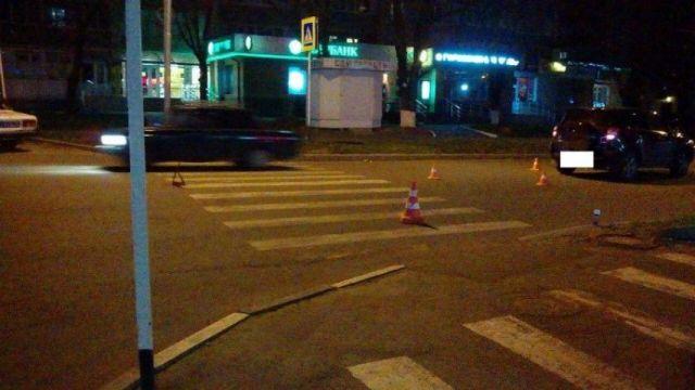 В Ставрополе водитель внедорожника «Тойота» сбил молодую пару на пешеходном переходе