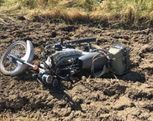 В Ставропольском крае погиб 60-летний мотоциклист