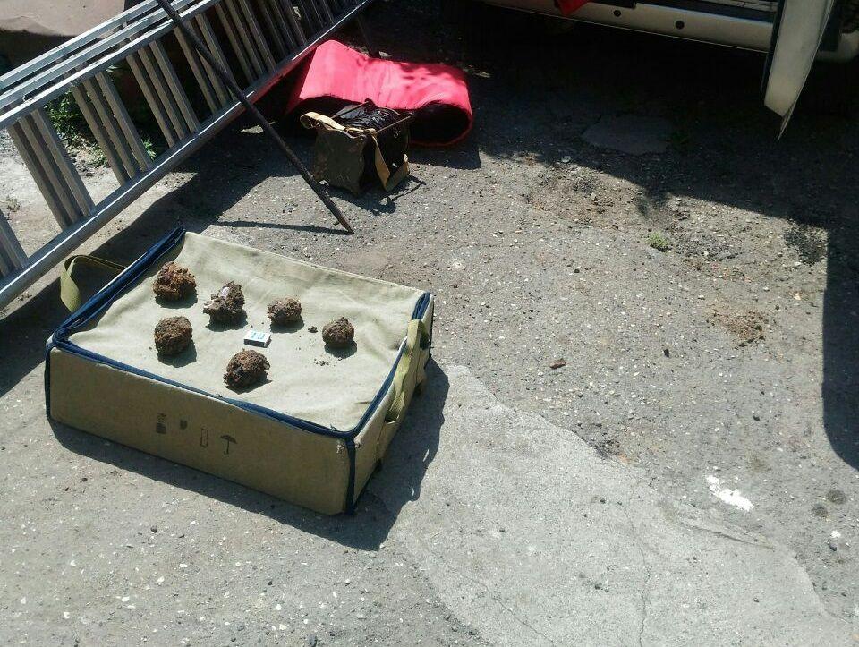 ВБабаево дачники отыскали наогороде гранату
