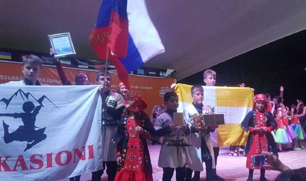 Ставропольские танцоры завоевали вГрузии Гран-при интернационального фестиваля