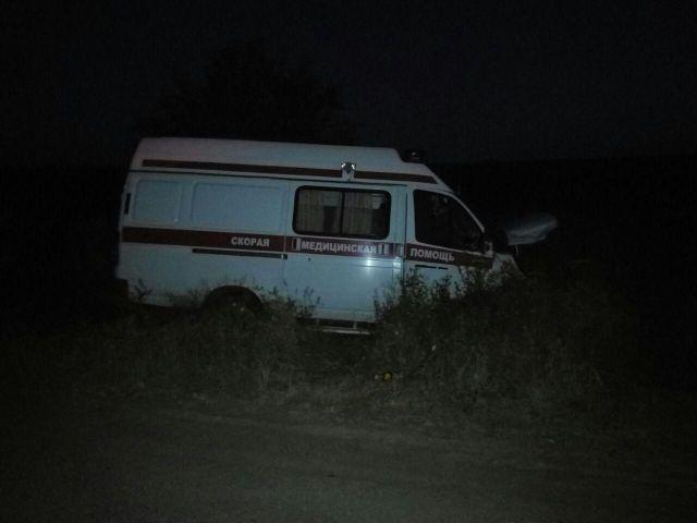 На Ставрополье водитель иномарки столкнулся с машиной скорой помощи, есть пострадавший