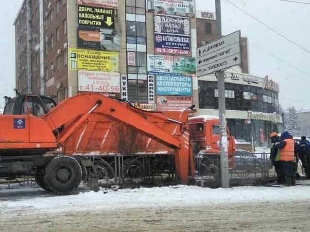 В Юго-Западном районе Ставрополя коммунальщики устранили порыв водопровода