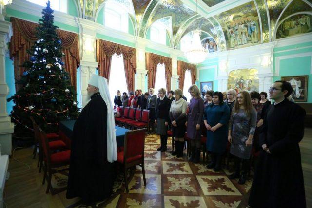 В Ставрополе обсудили вопросы развития сотрудничества между городскими школами и духовной семинарией