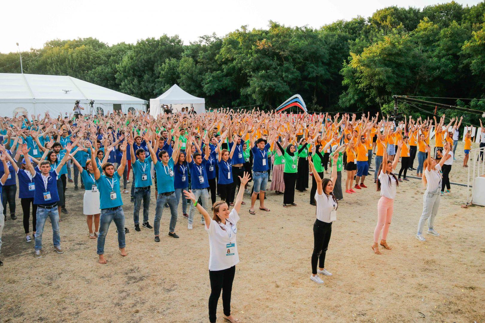 Завершилась первая смена Северо-Кавказского молодёжного форума «Машук-2017»