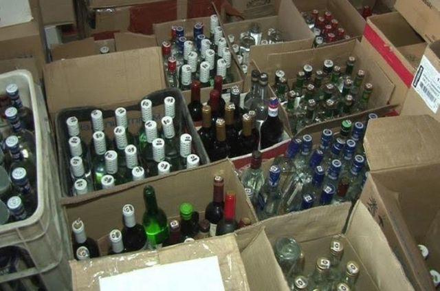 В селе Кочубеевском изъята крупная партия контрафактного алкоголя