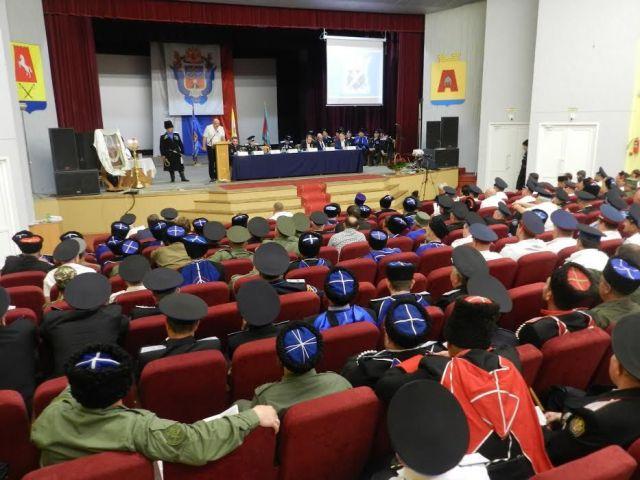 Отчётный круг Ставропольского окружного казачьего общества прошёл в крае