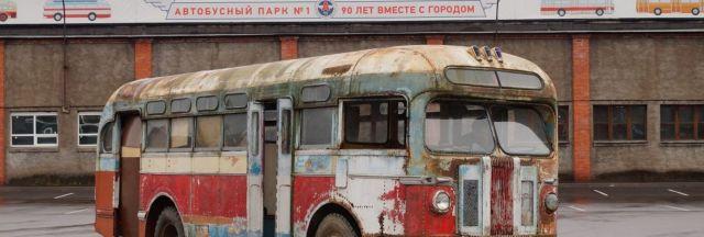 Ставрополец передал в музей Санкт-Петербурга автобус середины XX века