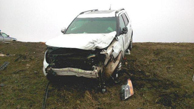 На Ставрополье 17-летний водитель без прав спровоцировал серьёзную аварию
