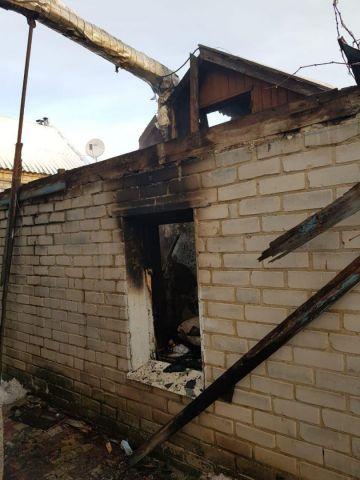 В Ставрополе сгорела жилая времянка