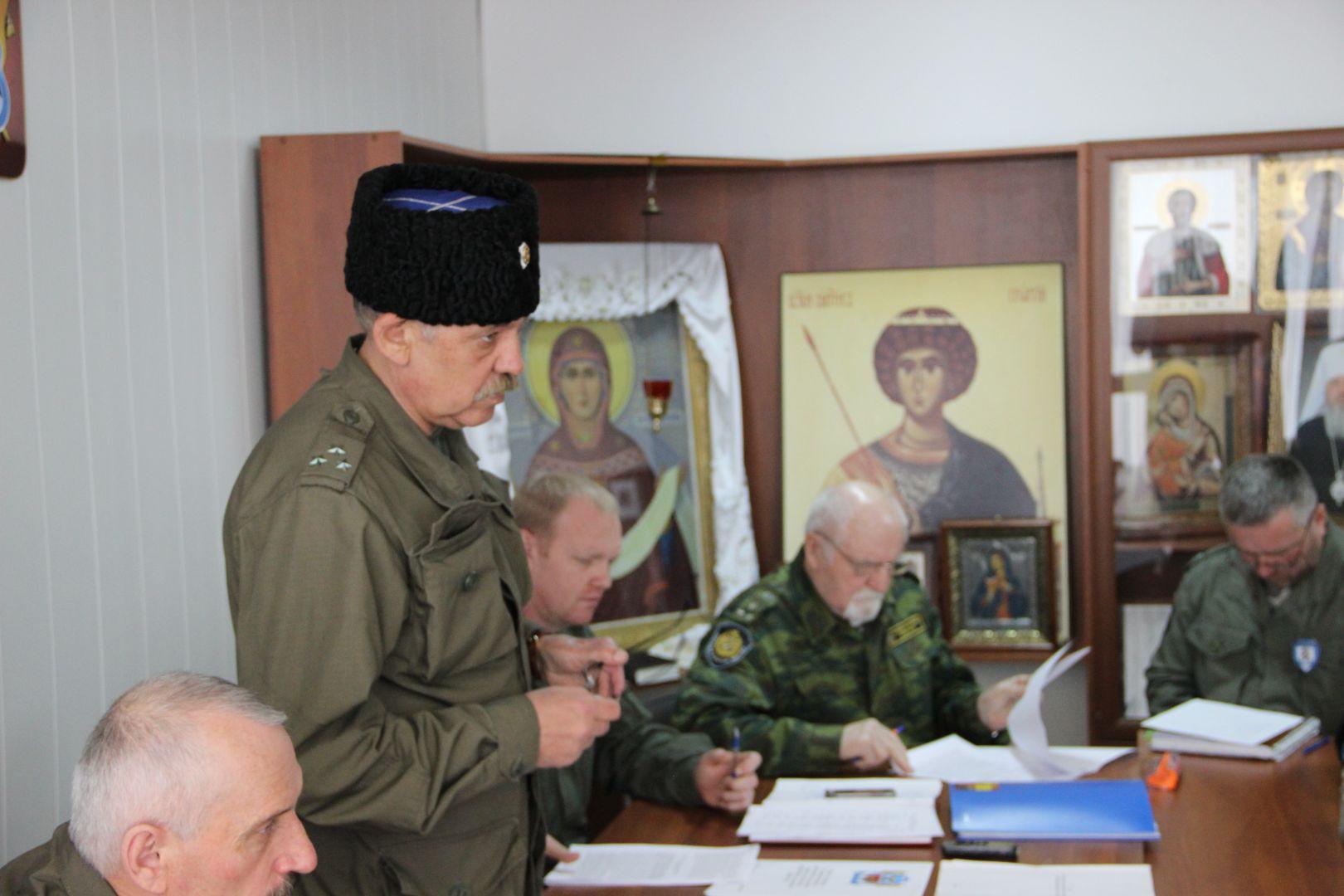 Совет атаманов Ставропольского округа обсудил эффективность экономической деятельности