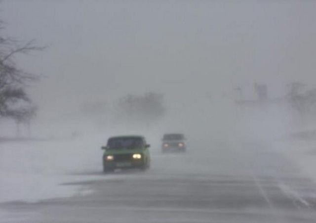 На Ставрополье из-за плохих погодных условийэкипажи ДПС переведены на усиленный вариант несения службы
