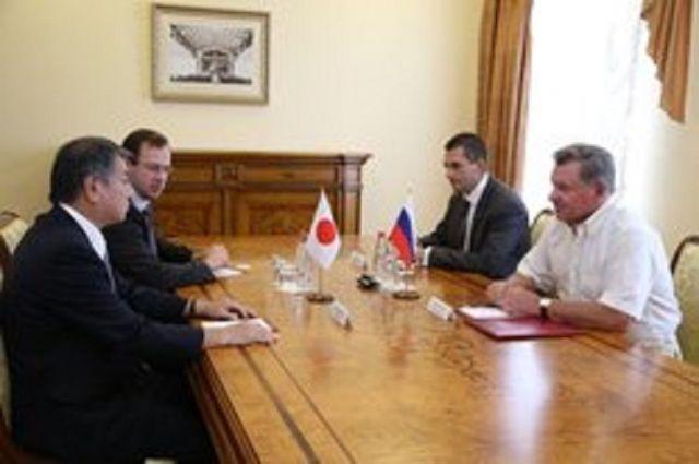 Лидер японской партии «Иссуй-Кай» Мицухиро КимураприбылвПятигорск