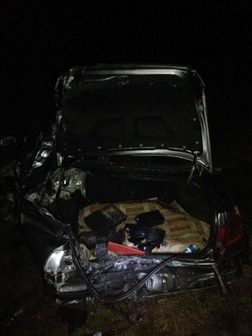 В Ставропольском крае водитель грузовика врезался в легковушку, есть пострадавший