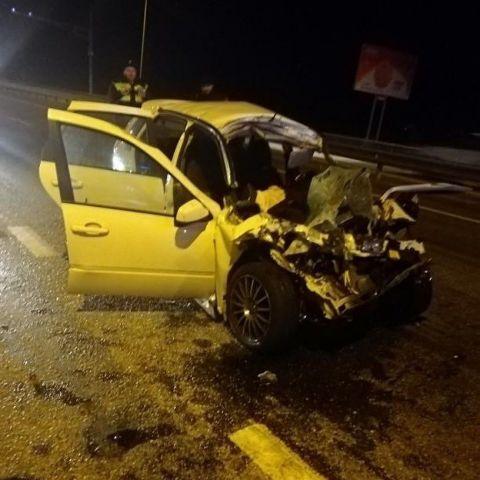 На Ставрополье столкнулись два автомобиля, погибли двое