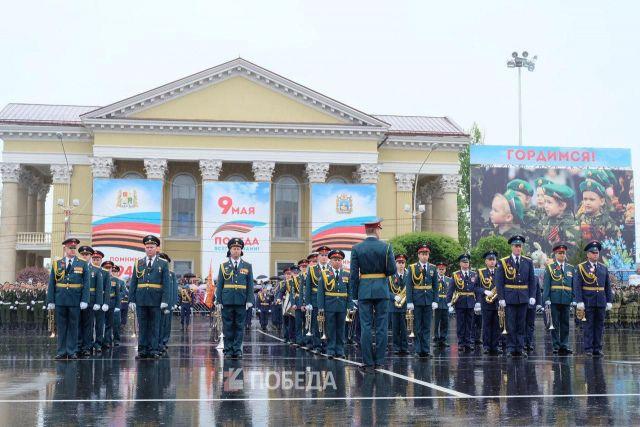 В Ставрополе стартовал парад Победы