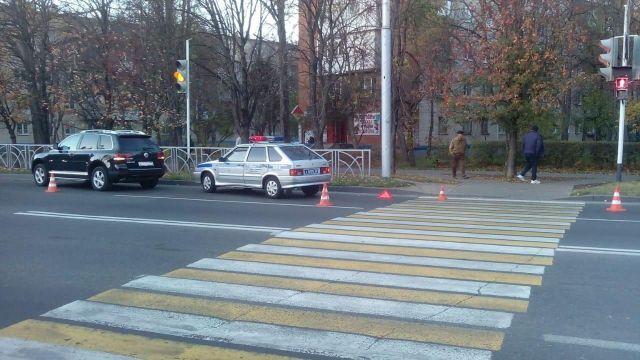 В Ставрополе водитель иномарки сбил 16-летнюю девушку