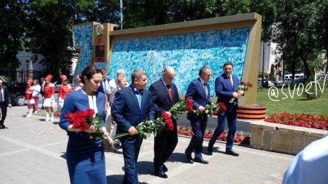 Вице-премьер Виталий Мутко и министр РФ по делам Северного Кавказа Сергей Чеботарев прибыли на Ставрополье