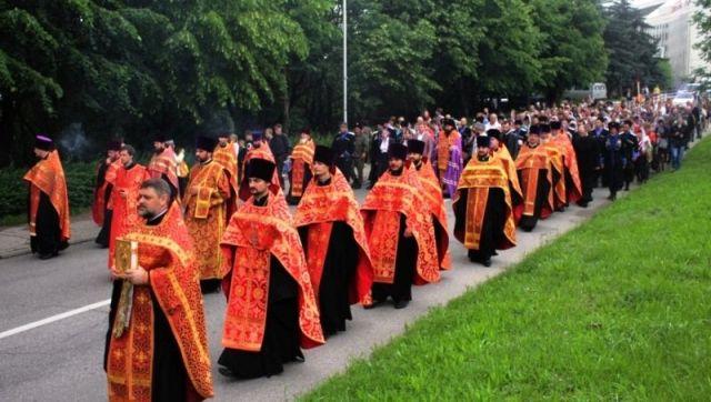 ВПятигорске прошёл праздник Благословения вод