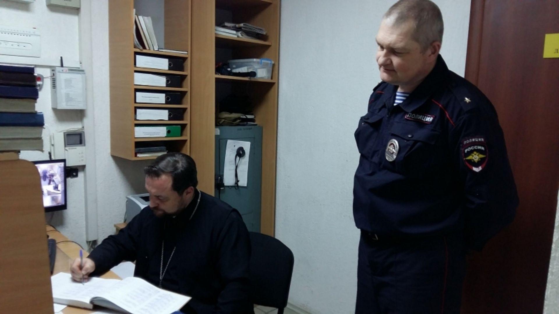Представитель Общественного совета посетил изолятор временного содержания в Шпаковском районе