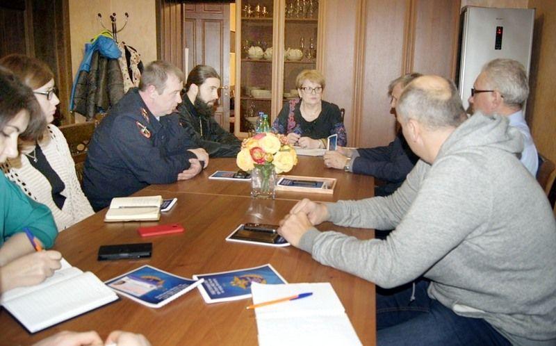 Общественники пятигорской полиции обсудили вопросы взаимодействия