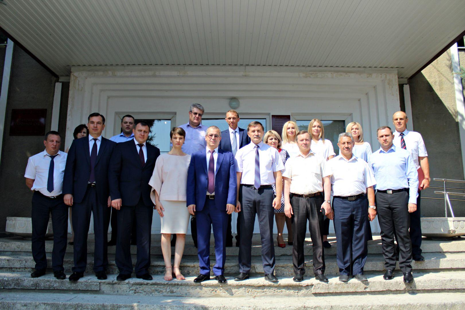 Новый председатель Шпаковского районного суда приступил к своим обязанностям