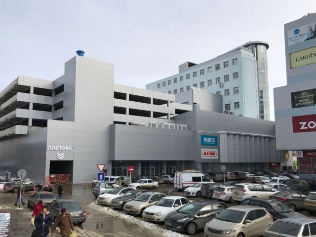 В центре Ставрополя открылась бесплатная многоуровневая парковка на 250 мест
