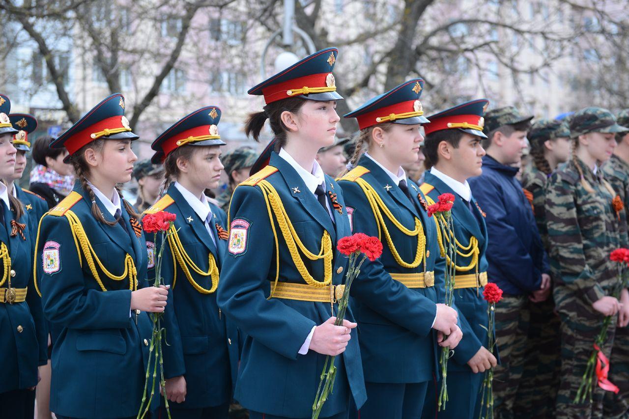 В мероприятиях ко Дню Победы участвовали более 45 тысяч школьников Ставрополя