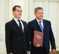 Дмитрий Медведев вручил награду ректору Ставропольского государственного аграрного университета