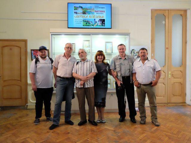 В Ставрополе открылась выставка картин «Лирика пейзажа»