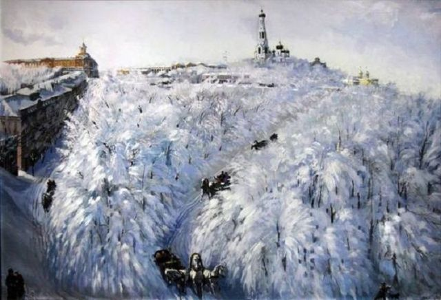 Рождественская выставка открылась в Ставропольском краевом отделении Союза художников