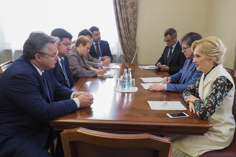 Выездное заседание президиума Совета законодателей РФ пройдёт на Ставрополье