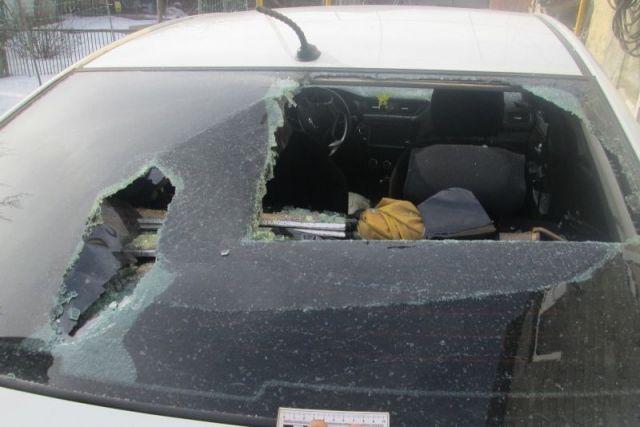 Житель Ставрополья вилами разгромил автомобиль оппонентки