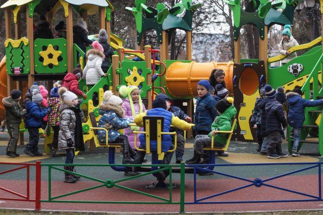 В Кисловодске открыли сквер Победы