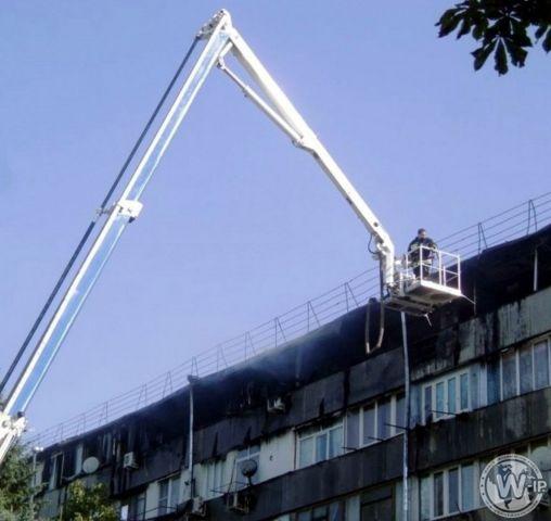 В Ессентуках восстановили кровлю сгоревшей многоэтажки
