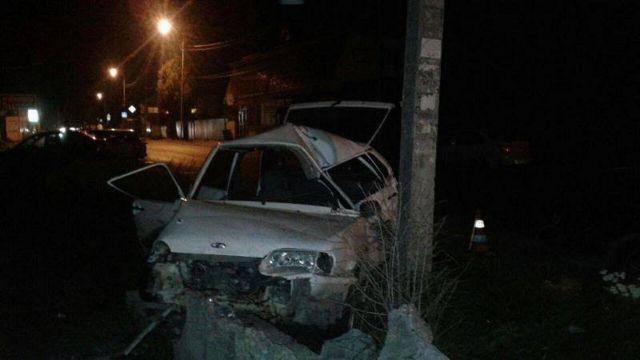 В Пятигорске столкнулись четыре автомобиля, есть погибший