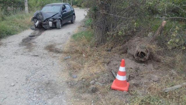 На Ставрополье водитель скрылся с места ДТП, несмотря на травмы детей