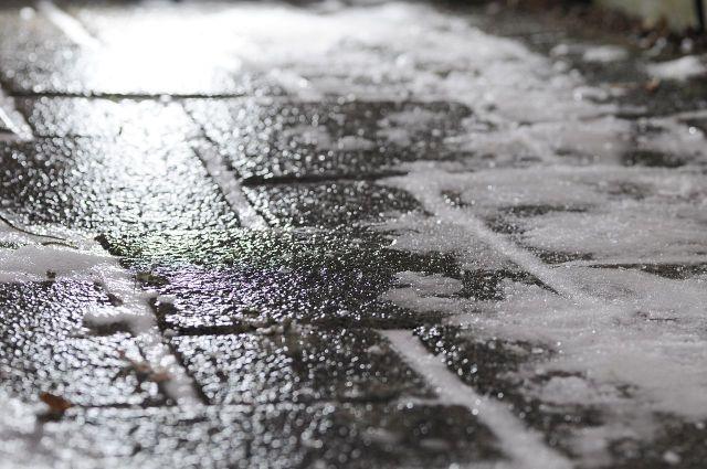 На дорогах края 1 ноября прогнозируется гололедица