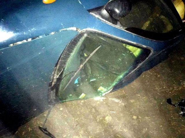 В Кировском районе не удалось спасти водителя после опрокидывания автомобиля