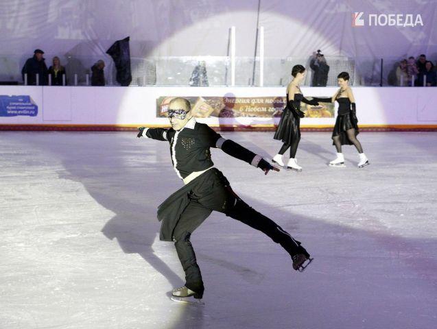 В Ставрополе провели «Танцы со звёздами на льду»