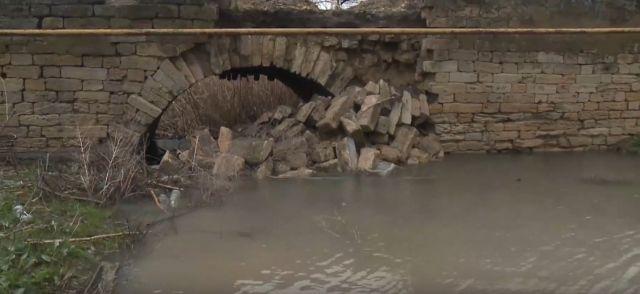 Единственный мост села Кугульта — под угрозой обрушения
