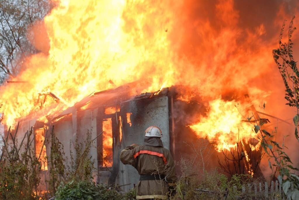 фото с пожара в киеве