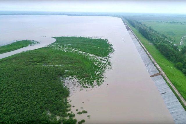 Из Отказненского водохранилища увеличили сбросы воды