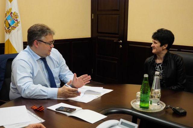 Губернатор Ставрополья провёл личный приём граждан